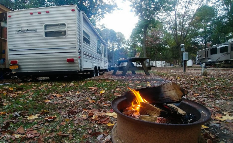 Campsite Review: Waynesboro N 340 Campground, VA
