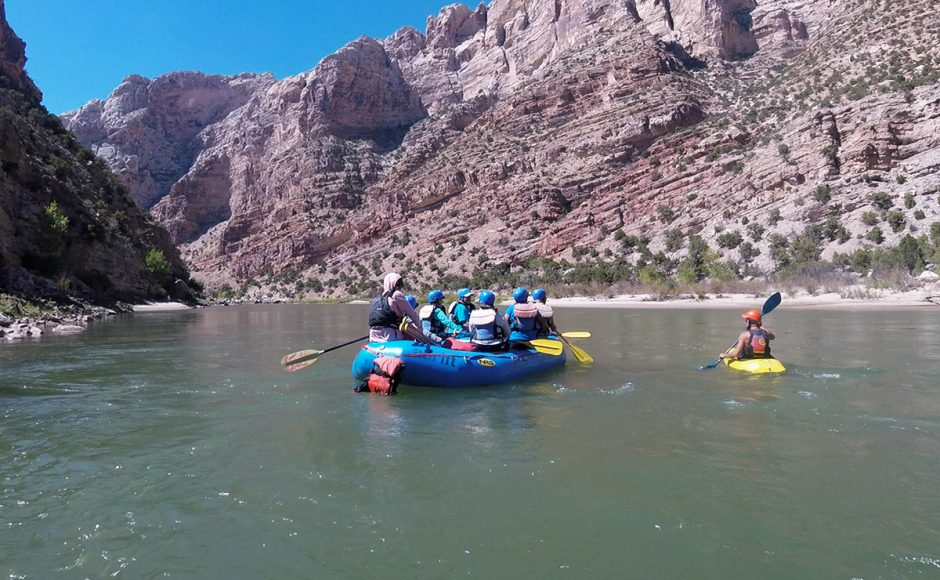 River Rafting On The Green River Dinosaur National Monument Utah