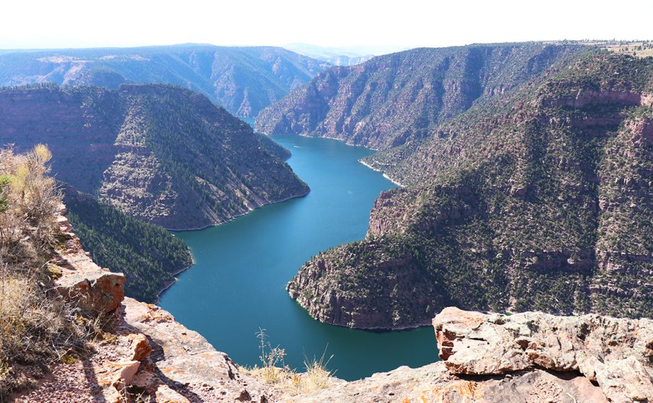 Flaming Gorge National Recreation Area Utah Hiking and Kayaking
