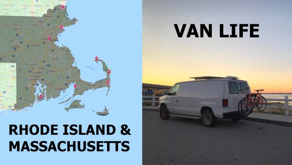 Vanlife Rhode Island and Massachusetts
