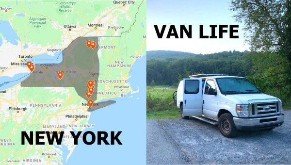 Van Life New York State Road Trip