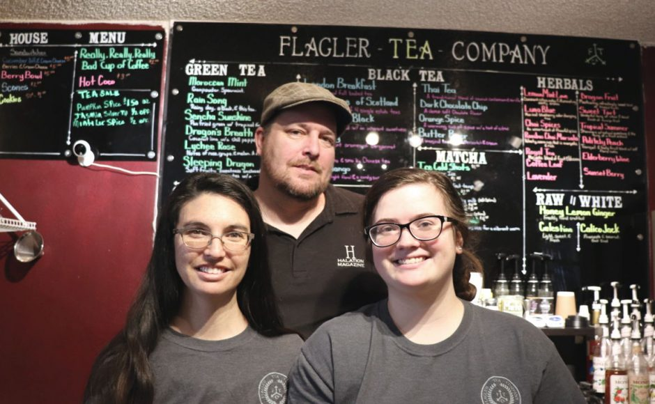 Sustainable Living: Flagler Tea Company & A Scent To Remember / Tea Bar and Aromatherapy Boutique