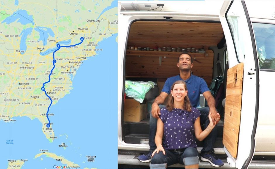 Vanlife Road Trip Canada to Florida – Niagara Falls, Adirondack Mountains, Pittsburgh & Asheville